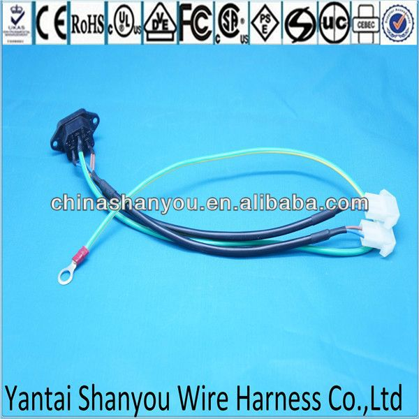 China consumer electronics wire harness with jst con