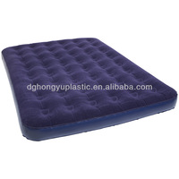 inflatable air bed with potable pump