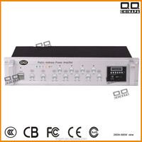Pre-Power Amplifier with 4zone+FM+USB+MMC+Wirless Contronal+Individual Volume Contronal (100W