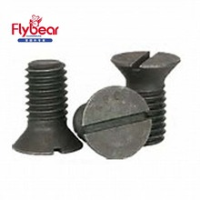 GB68 direct seling A4-70 slotted countersunk head screw DIN963 standard fastener screws for wholesale