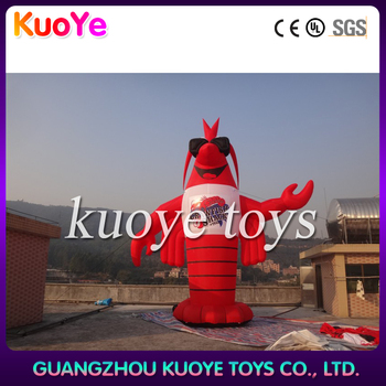 Outdoor display inflatable bird/red parrot inflatable/inflatable animal cartoon for marketing advertising