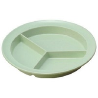 "100% melamine Safe and Popular 8.75"" Round Compartment Plate"