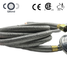 propane flexible gas cooker hose with regulator for gas grills