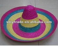 mexico straw sombrero hat
