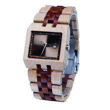 Koda Horologe Quemex Quartz Wood Watch Parts