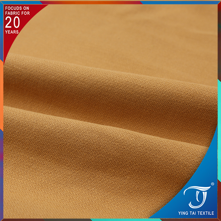 100% Cotton twill khaki fabric