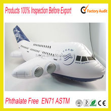 PVC inflatable airplane / space shuttle / aircraft / fighter / warplane / fighter plane / A380 / 747 for promotion