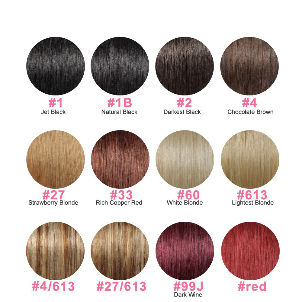 XBL Silky Straight Hair Chinese Professional Hair Color Products