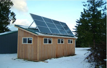 2015 Rooftop Off grid 5KW solar system with battery charging function