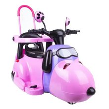 Snoopy design kids electric tricycle motorcycle