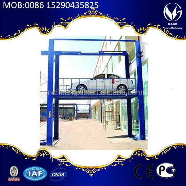 4000kg alignment 4 post car lift for sale