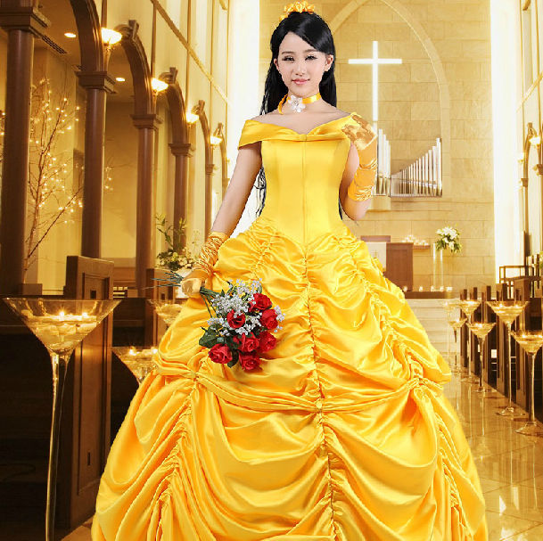2017 New Movie Sandy Princess Cinderella Dress Cosplay