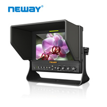 "7"" 1080p Portable HD Camera Field Monitor with hd-mi input and Sun Shade"