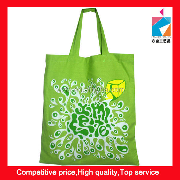 Durable Shopping Cotton Canvas Bag For Promotion