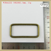 WIR66222 metal loop wire rings for purse bag hardware accessories