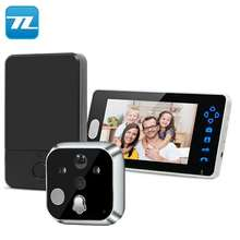 "2.4GHz Wireless Digital Video Door Peephole Viewer Phone Call & Talk 3.5"" 7"" TFT HD Indoor Monitor Night Vision Doorbell Camera"
