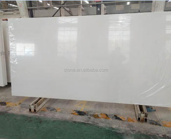 Super pure white quartz slabs 2cm 3cm polished pure white quartz stone slabs