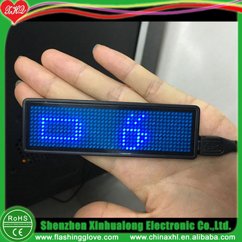 Auto LED Programmable Badge