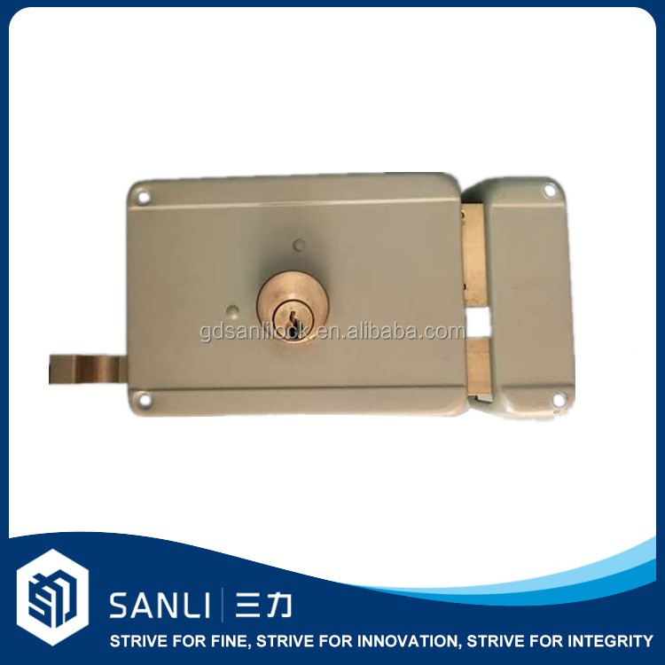 security main wrought iron gate lock