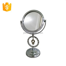 Female pendant table cosmetic small mirror for gift