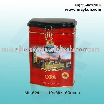 Coffee can with pretty printing ML-624A