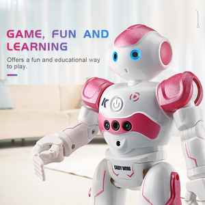 Hot! JJRC R2 2.4G USB Charging Dancing RC Robot Intelligent Programming Toy for Children Kids Birthday Gift Present