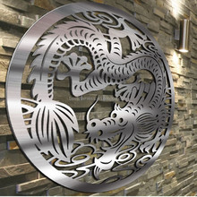 Customized modern-designs Arts stainless steel sculptures / indoor decorative status
