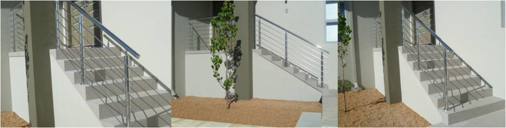 exterior Dia 4mm stainless steel cable wire balcony railing fencing