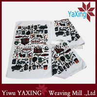 Promotional printed microfiber kitchen cloth