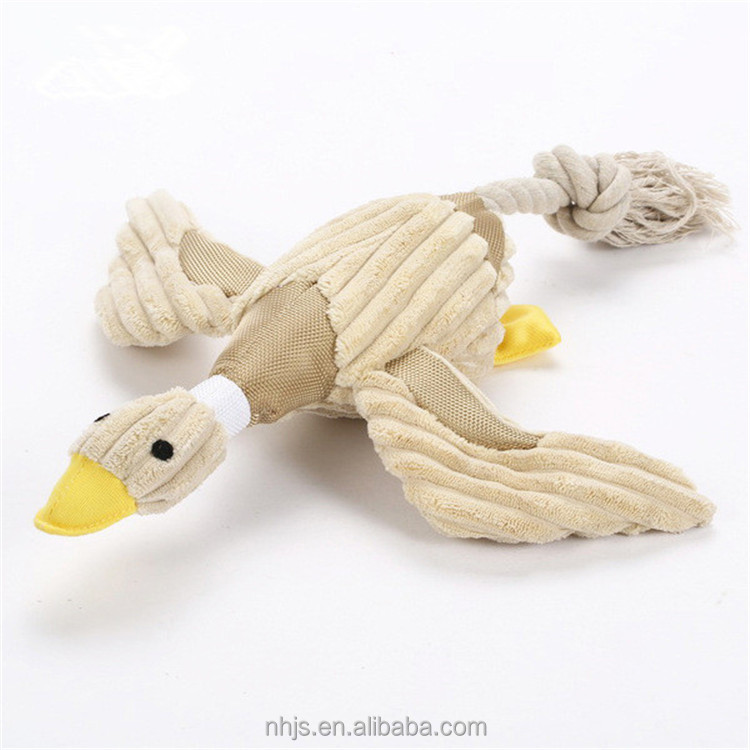 Pet Products Animal Shaped Squeaky Pet Toy Wholesale Soft Plush Dog Toy