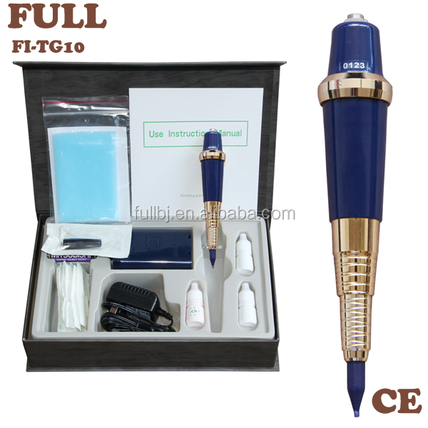 Professional Permanent Electric Makeup Kits Pen Ink Ring Tips Tattoo Eyebrow Make up Machine