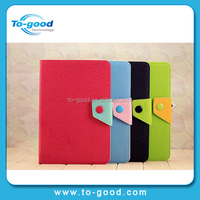 Tablet Accessories Fashion Double Colors Leather Covers Cases for iPad Mini 2,Wholesale Leather Case For iPad Mini Manufacturer
