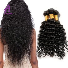 Wholesale Virgin Cuticle Correct Remy Deep Wave Virgin Human Hair Bulk