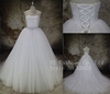 2017 Beatutiful celebrity wedding dresses 3d lace flower ball gown wedding wear collection