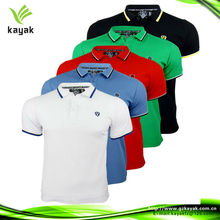 Customized colorful polo shirt designs