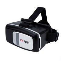 Brand New Best Price Plastic Vr Virtual Reality 3D Glasses for Google glasses for virtual reality goggles for 3D glasses headset