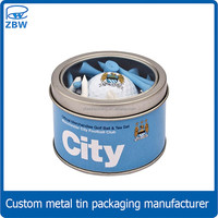 Good Quality Golf Tin Cans Round