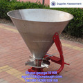 Stainless steel tank fertilizer granular spreader