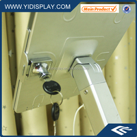 "YIDISPLAY 10"" tablets clamp bracket with lock for ipad4"