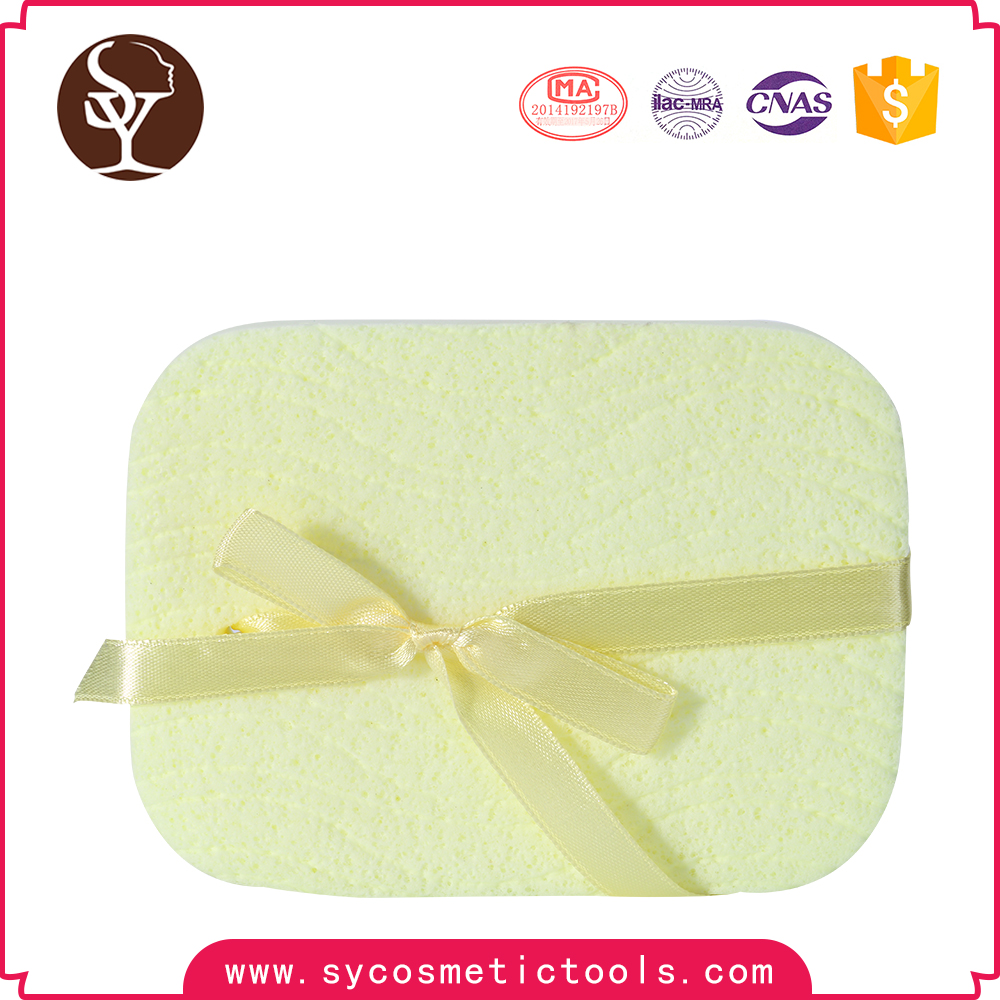 New design cosmetic skin care facial cleansing sponge