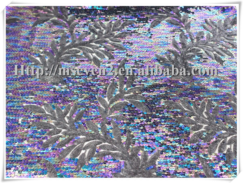 how to make reversible sequin fabric