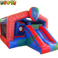 2017 paypal high quality inflatable spide man pvc kids playground bouncer