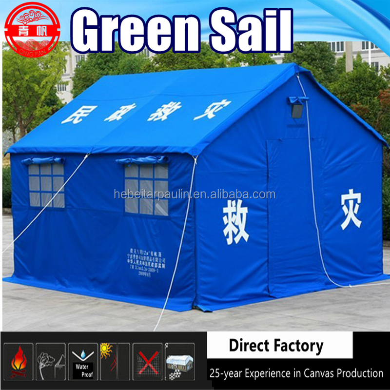 Standard Disaster Relief Refugee Camp Tent for Ministry of Civil Affairs