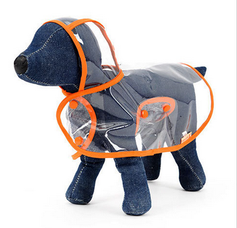 Wholesale lovely new design pet clothes dog rain coat