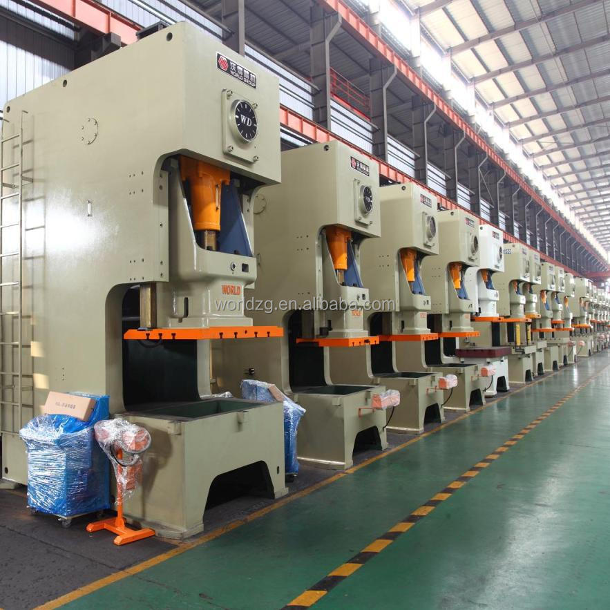 160Ton C Frame mechanical power press machine for sale