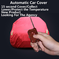 UV Waterproof Plastic Fast Body Fabric Disposable Protection Retractbale Inflatable Folding Garage Car Parking Heated Car Cover
