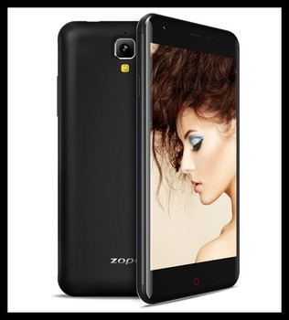 Original ZOPO ZP530 ZP 530 MTK6732 Quad Core 4G LTE Mobile Phone 1G RAM 8G ROM 8.0MP 5.0 Inch Gorilla Glass GPS NFC OTG
