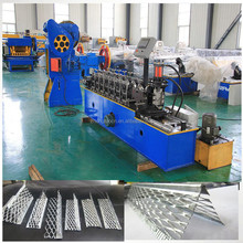 metal steel profile L wire angle roll forming machine