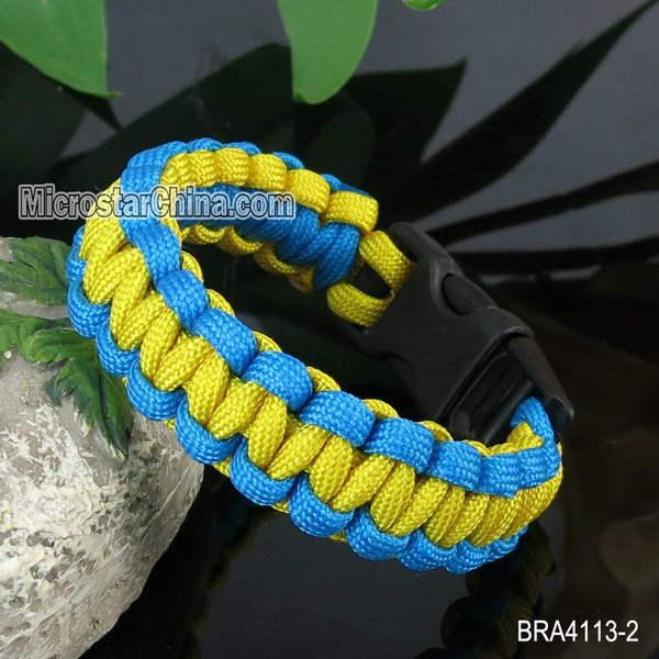 Hot selling different types of paracord bracelets