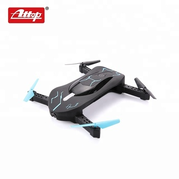app control 2.4g pocket rc quadcopter foldable selfie drone with camera wifi